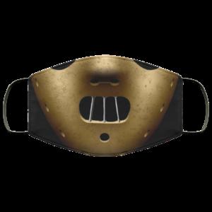 Hannibal Lector Face Mask Reusable
