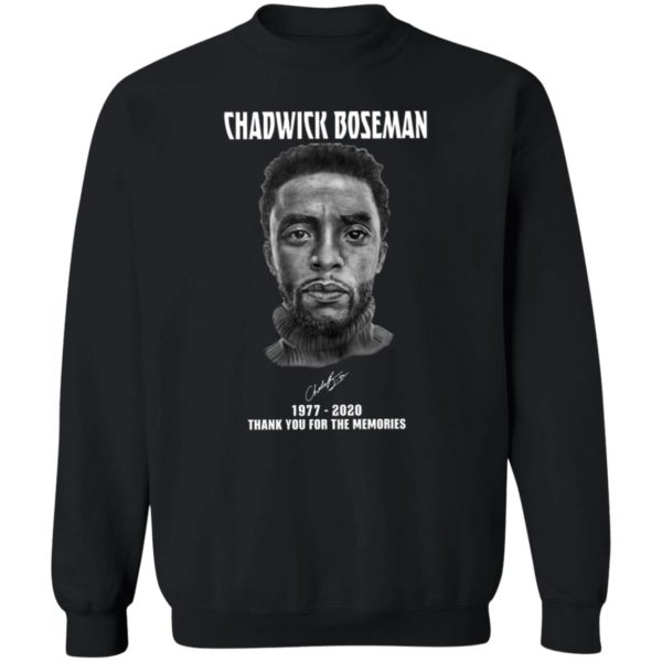 Chadwick Boseman Wakanda Forever Black Panther T-Shirt