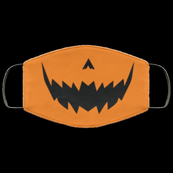 Pumpkin Halloween Jack O Lantern Mask Face Mask
