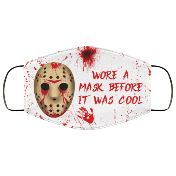 Jason Voorhees wore a mask before it was cool face mask