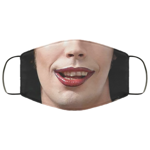 Tim Curry Rocky Horror Picture Show Face Mask Dr Frank-N-Furter Face Mask