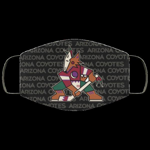 New Fan's Arizona Coyotes Cloth Reusable Face Mask