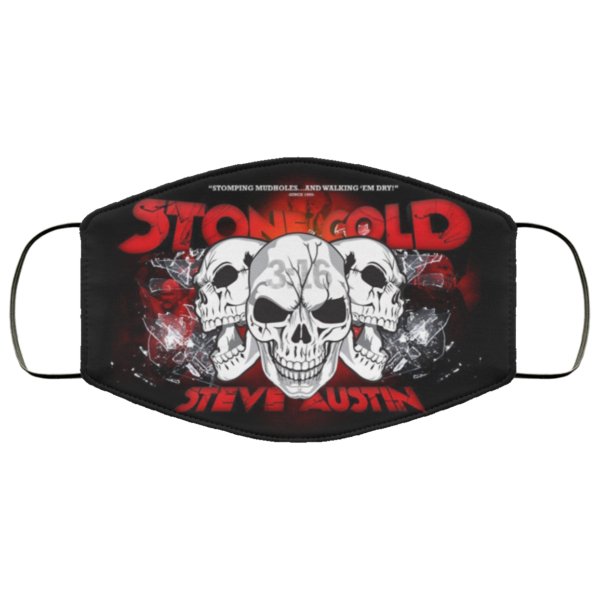 Stone Cold Steve Austin Cloth Face Mask