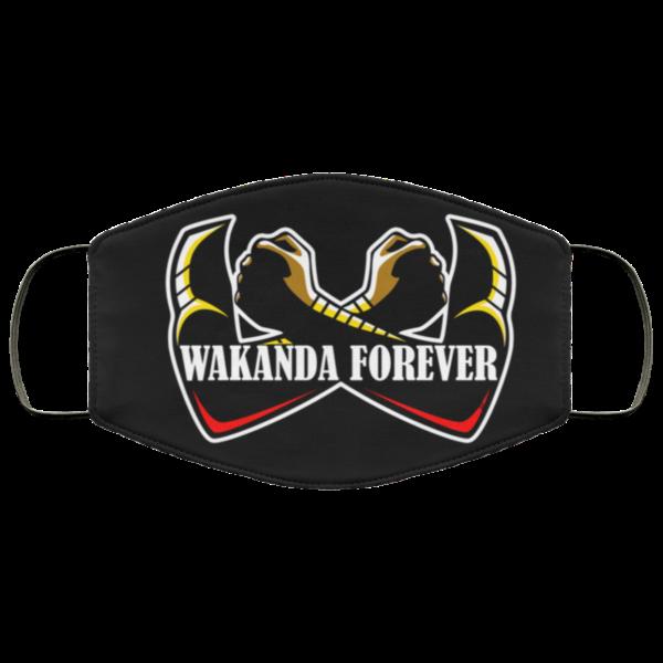 Wakanda Forever Face Mask