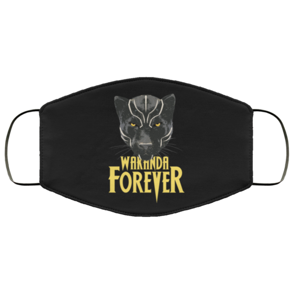 Wakanda Forever Black Panther Face Mask