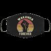 Wakanda Forever RIP face mask