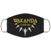 Wakanda Forever African face mask