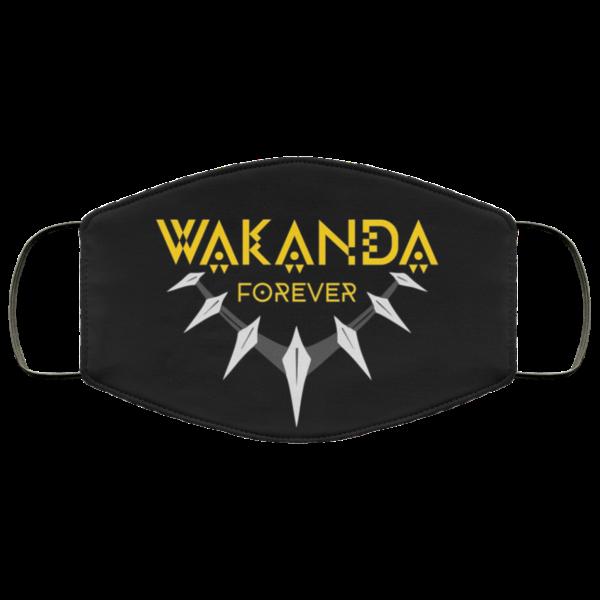 Wakanda Forever African face mask