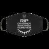 RIP Chadwick Boseman 1977- 2002 face mask