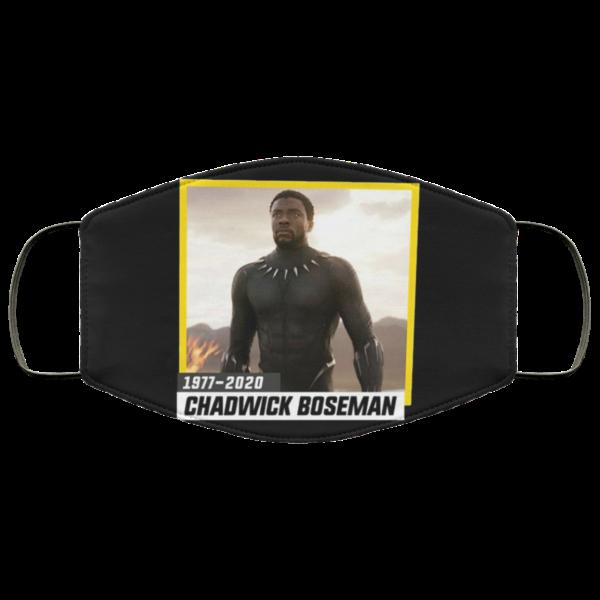 Black Boseman Wakanda 1977-2020 Face Mask