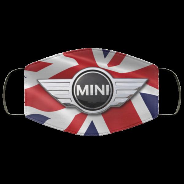 Mini Cooper Union Jack Mask Face Mask Automotive