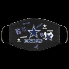 Dallas Cowboys Love Cloth Face Mask