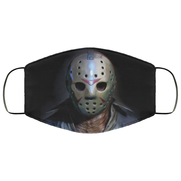 Jason Voorhees Cloth Face Mask