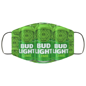 Bud Light Lime Can Cloth Face Mask