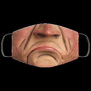 Walter Jeff Dunham Face Mask Reusable