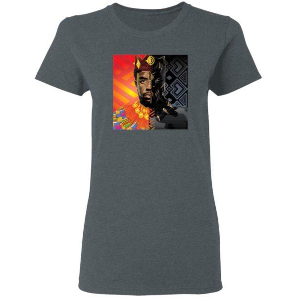 King of Wakanda Black Panther T-Shirt