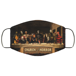 Church Of Horror Movie Face Mask