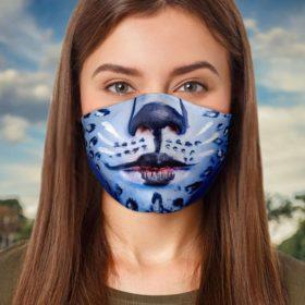 Kitty Cat Halloween Face Mask