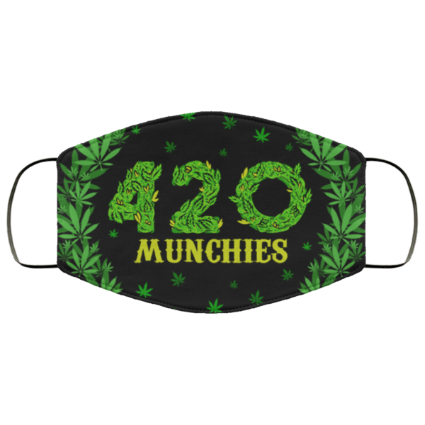 420 Munchies Face Mask