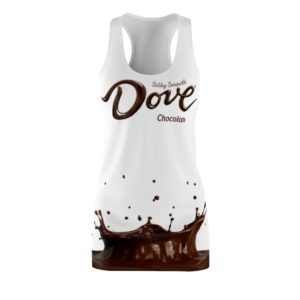 Dove Chocolate Costume Dress