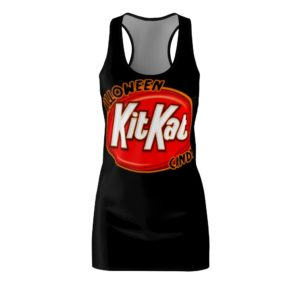 Halloween Kit Kat Candy Costume Dress