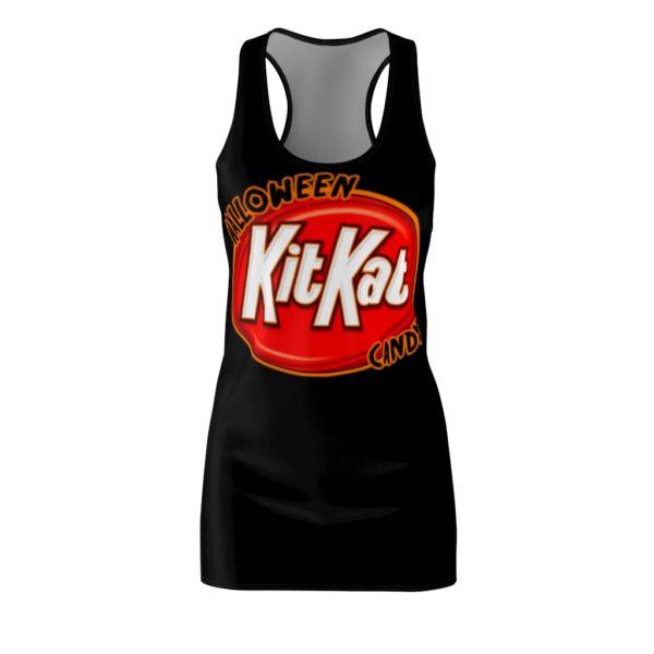 Halloween Kit Kat Candy Costume Dress