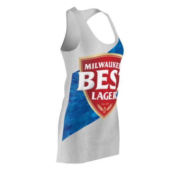 Milwaukee's Best Lager Beer Costume Dress