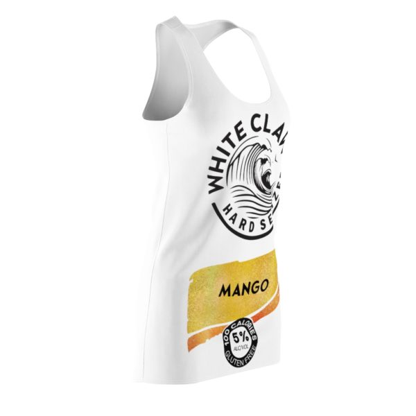 Mango White Claw Glitter Costume Dress