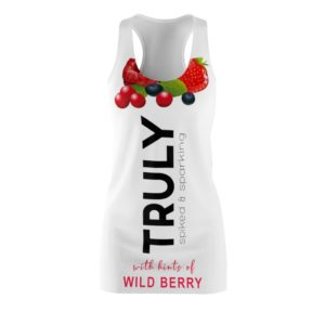 TRULY Can Wild Berry Hard Seltzer Costume Dress