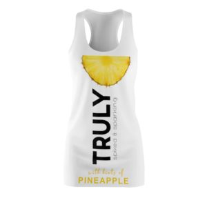 TRULY Can Pineapple Hard Seltzer Costume Dress