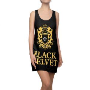Black Velvet Canadian Whisky Racerback Dress