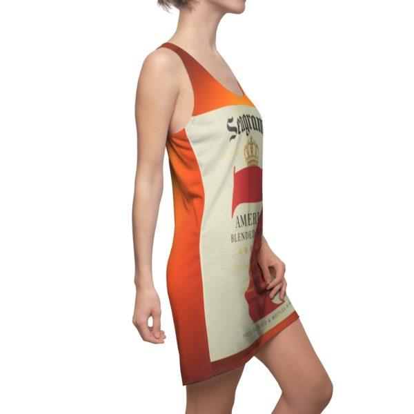 Seagram's 7 Crown American Whiskey Bottle Racerback Dress
