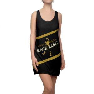 Johnnie Walker Scotch Whiskey Black Label Racerback Dress