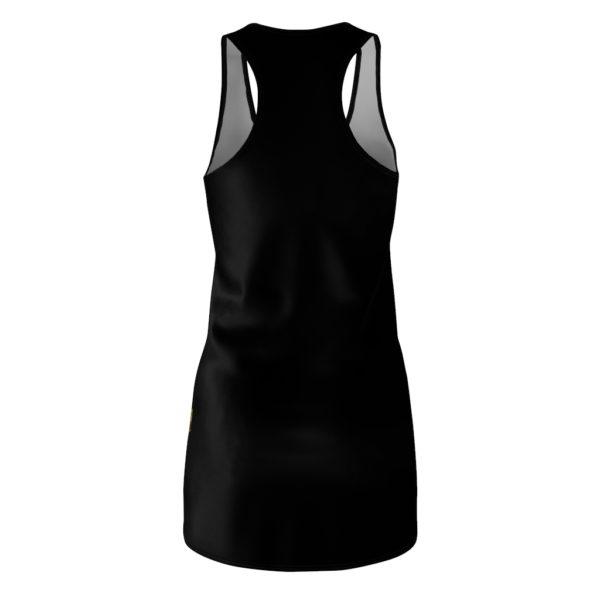 Johnnie Walker Scotch Whiskey Black Label Racerback Dress
