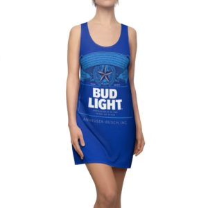 Bud Light Beer Costume Dress