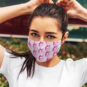 RBG pink Face Mask