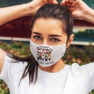 Smash the Patriarchy Face Mask