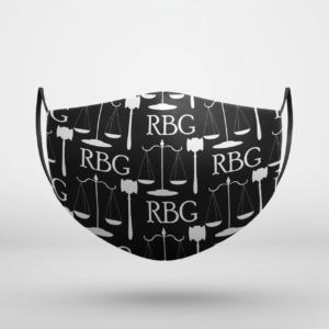 RUTH BADER GINSBURG RBG Justice Face Mask