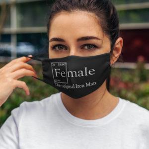 Element Fe Female the Original Iron Face Mask