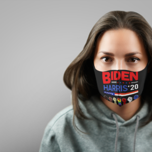 Biden Anti Racism LGBT Support Face Mask