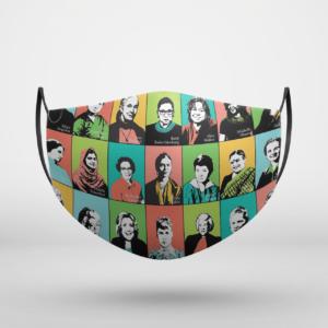 Feminist Icons Face Mask