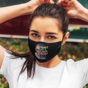 Ruth Bader Ginsburg RBG No Fragile Like Feminist Women Face Mask