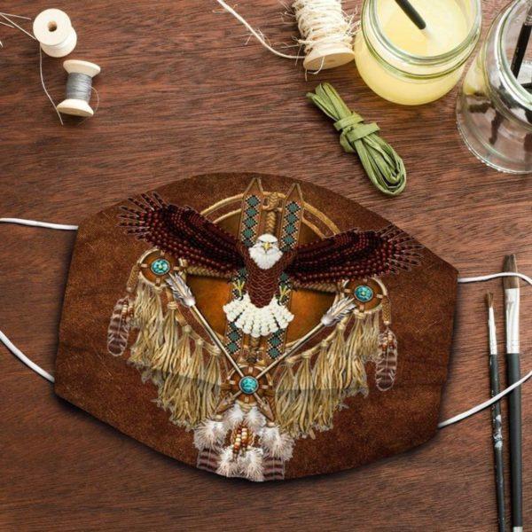 Eagle Native America Face Mask