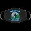 Darryl 2020 Because Humans Suck Funny Bigfoot 2020 Election Face Mask