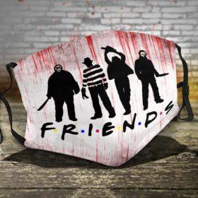 Horror Films Friends Halloween face mask