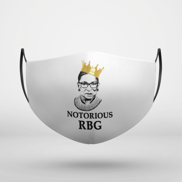The Notorious RBG Face Mask