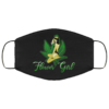 Flower Girl 420 Weed Cannabis Face Mask