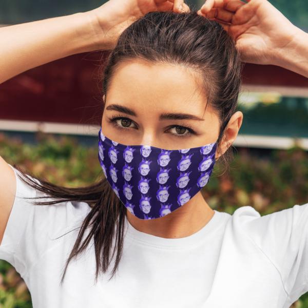 RBG Purple Face Mask