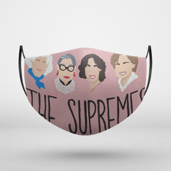 The Supremes Face Mask