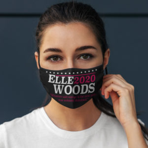 Elle Woods 2020 Whoever Said Orange Is the New Pink Face Mask
